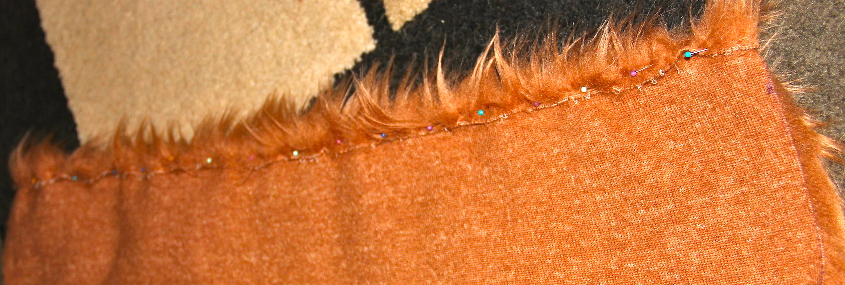 How to make a lions mane dog costume needles and know how roll over and pin solutioingenieria Gallery
