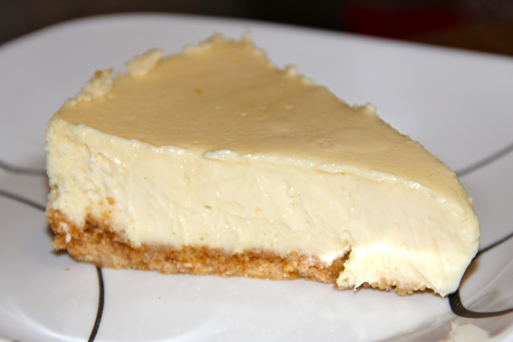White Chocolate Cheesecake Recipe - Needles and Know How