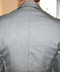 altered men's suit jacket