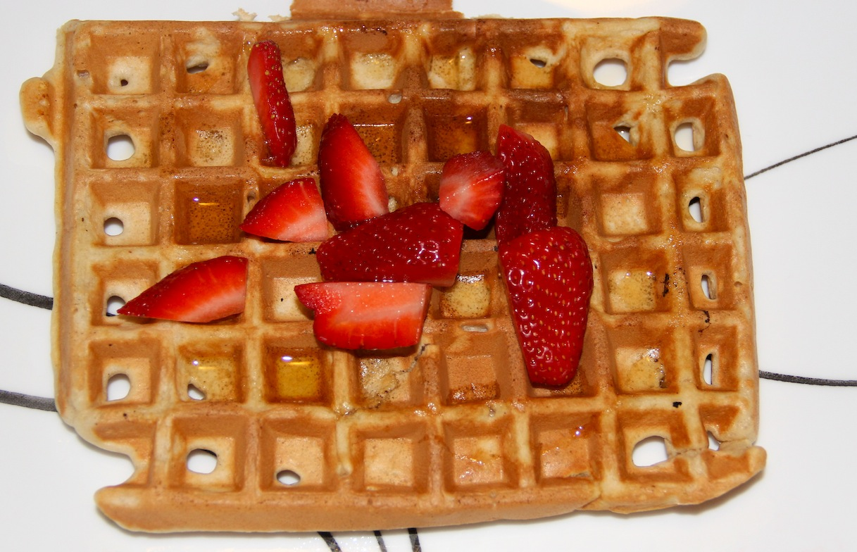 Who doesn't love waffles? My waffle recipe is pretty basic. I use ...