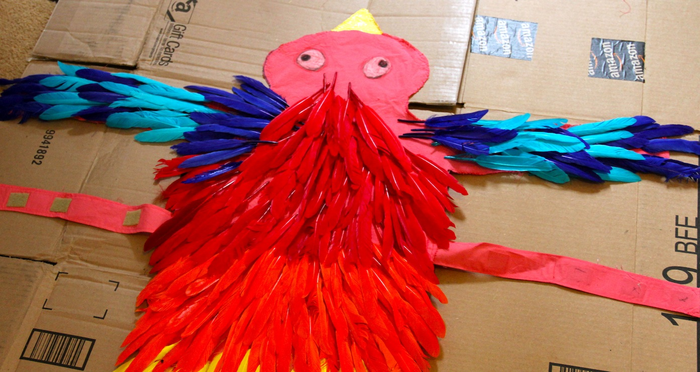 Make A Bird Costume Dog