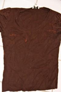bleach a shirt