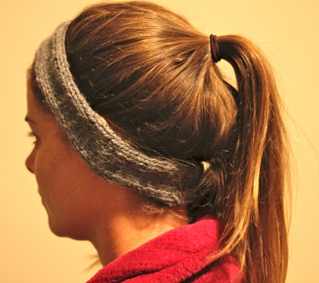 Knit Headband for Running - Needles and Know How