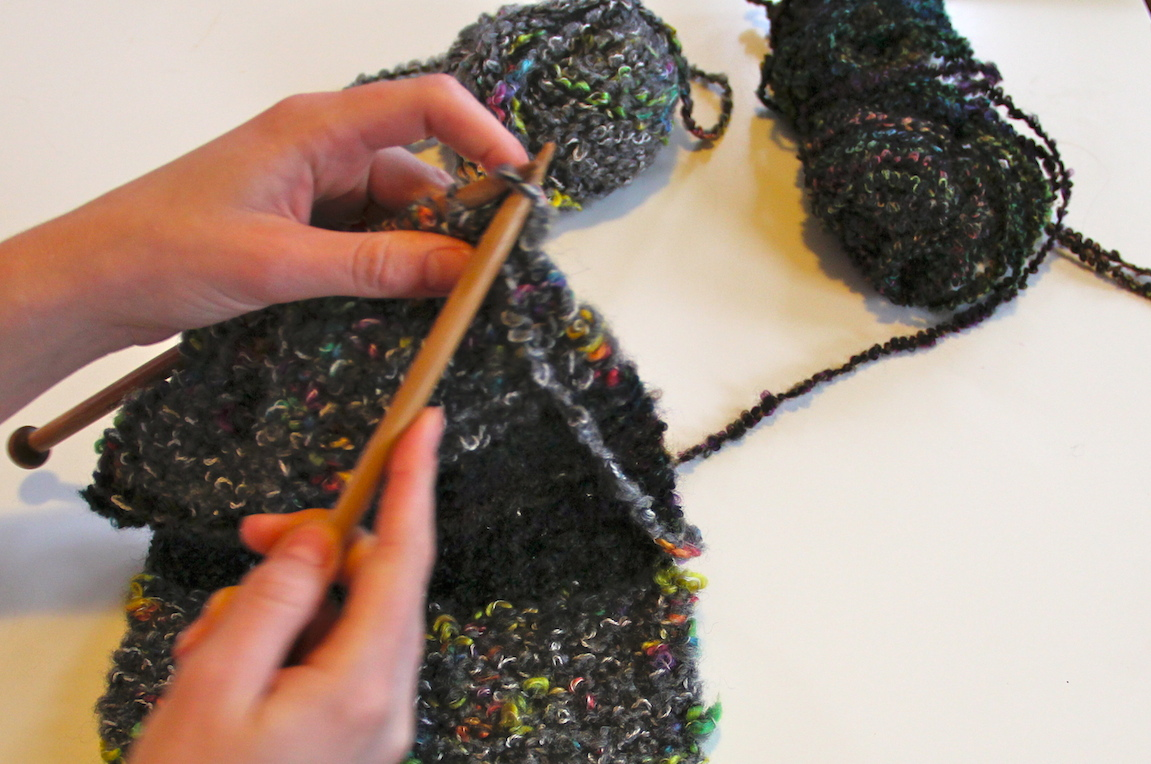 Knitting Add Stitches At Beginning Of Row : How to Add New Yarn to a Knitting Project - Needles and Know How